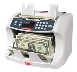 Semacon Bank Grade Currency Counters S-1225 Semacon, Bank Grade Currency Counters, S-1225