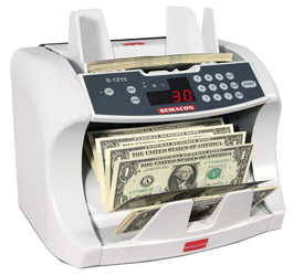 Semacon Bank Grade Currency Counters S-1215 Semacon ,Bank Grade Currency Counters, S-1215