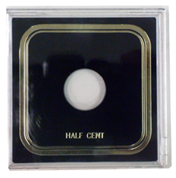 Half Cent Odd Type- Capital Plastics Half Cent Odd Type- Capital Plastics, VPX
