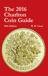 2016 Charlton Coin Guide, 55th Edition 2016, Charlton Coin Guide, 55th Edition, 0889683735