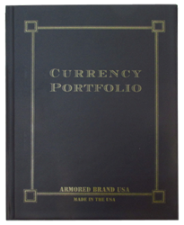 Currency Portfolio for Large Notes- Black Currency Portfolio, Large Notes- Black, Black