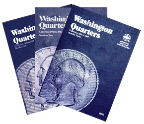 Whitman Washington Quarters Coin Folder 1932 to 1998