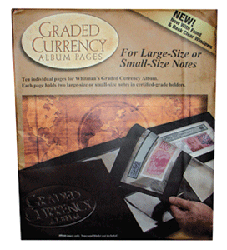 10 Refill Pages for Premium Graded Currency Album