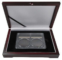 Guardhouse Display Box for a 2 in 1 Certified Coin Slab