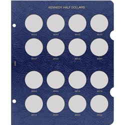 Kennedy Half Dollar Dated Page 2013-2018