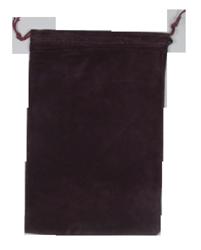 Velvet Drawstring Pouch - 5x7.5 Maroon
