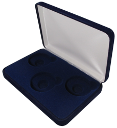 Velvet Coin Display Box - Holds 3L Capsules
