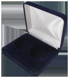 Velvet Coin Display Box - Holds 2L Capsules