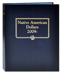 Native American Dollars Album 2009 -