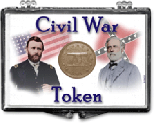 Edgar Marcus Civil War Token 2x3 Holder