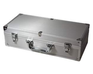 Guardhouse 50 Slab Aluminum Certified Box - Handle and Footers