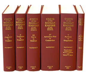 Catalogue of Coins of the Roman Empire (vol 4) in the British Museum vol.4
