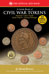 Guide Book of Civil War Tokens 3rd Edition