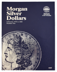 Morgan Silver Dollar Folder # 1 1878 - 1883