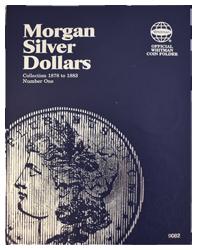 Morgan Silver Dollar Folder # 1 1878 - 1883