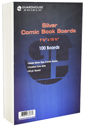 Boards for Silver Comic Book Bag - 100 Pack