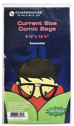 Shield Resealable Bag for Current Comic Books