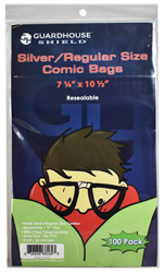 Shield Resealable Bag for Silver/Regular Comic Books