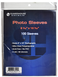 Shield Sleeve for 8x10 Photos & Prints