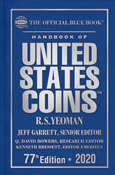 2020 Blue Book, Handbook of US Coins Hardcover