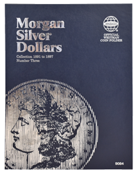 Morgan Silver Dollar Folder #3 1891 - 1897