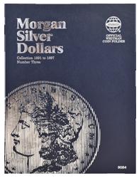 Morgan Silver Dollar Folder #3 1891 - 1897