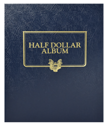 Whitman Half Dollar Album - Blank