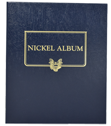 Whitman Nickel Album - Blank