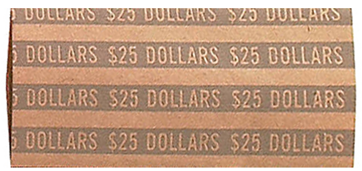 Flat Large Dollar Coin Wrappers