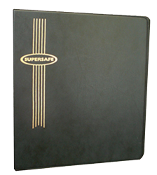 Standard Size Supersafe Binder - Black