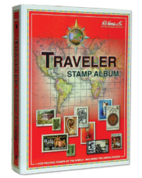 Traveler Stamp Album | Blank Binder
