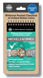 Whitman Pocket Checklist of United States Coins: Nickels & Dimes