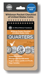 Whitman Pocket Checklist of United States - Quarters