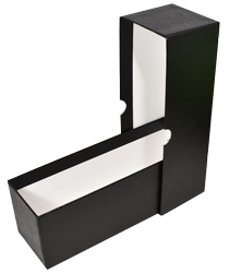 "Single Row Slab or Crown Box - 8.25"" - Black"
