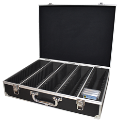 100 Slab Black Aluminum Box - Side Handle