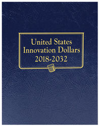 Whitman U.S. Innovation Dollars Album 2018 - 2032 Type Set