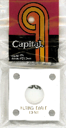 Flying EagleCapital Plastics Coin Holder 144 Type White 2x2