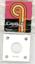 Nickel Capital Plastics Coin Holder 144 Type White 2x2