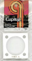 Trade Dollar Capital Plastics Coin Holder 144 White 2x2 Trade Dollar Capital Plastics Coin Holder 144 White, Capital, 144