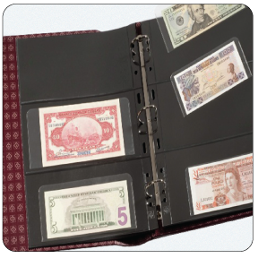 Currency Albums & Portfolios
