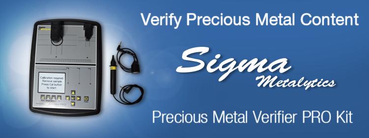 Sigma Precious Metal Verifier