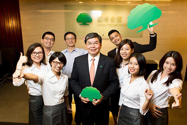 有台灣第一家太陽能銀行的國泰金控 安裝「綠色」防毒軟體防風險