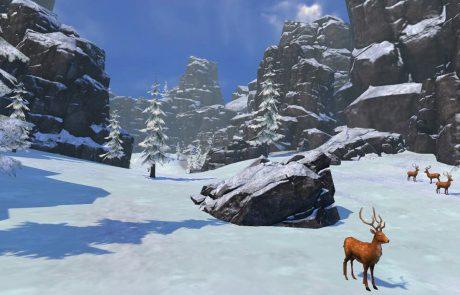 Fancy Skiing Screenshot