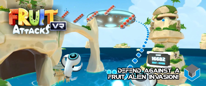 Fruit Attacks VR Slider