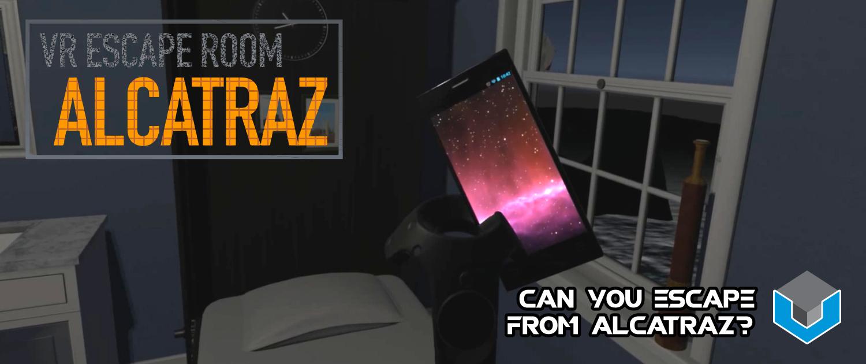 Alcatraz VR Escape Room Slider