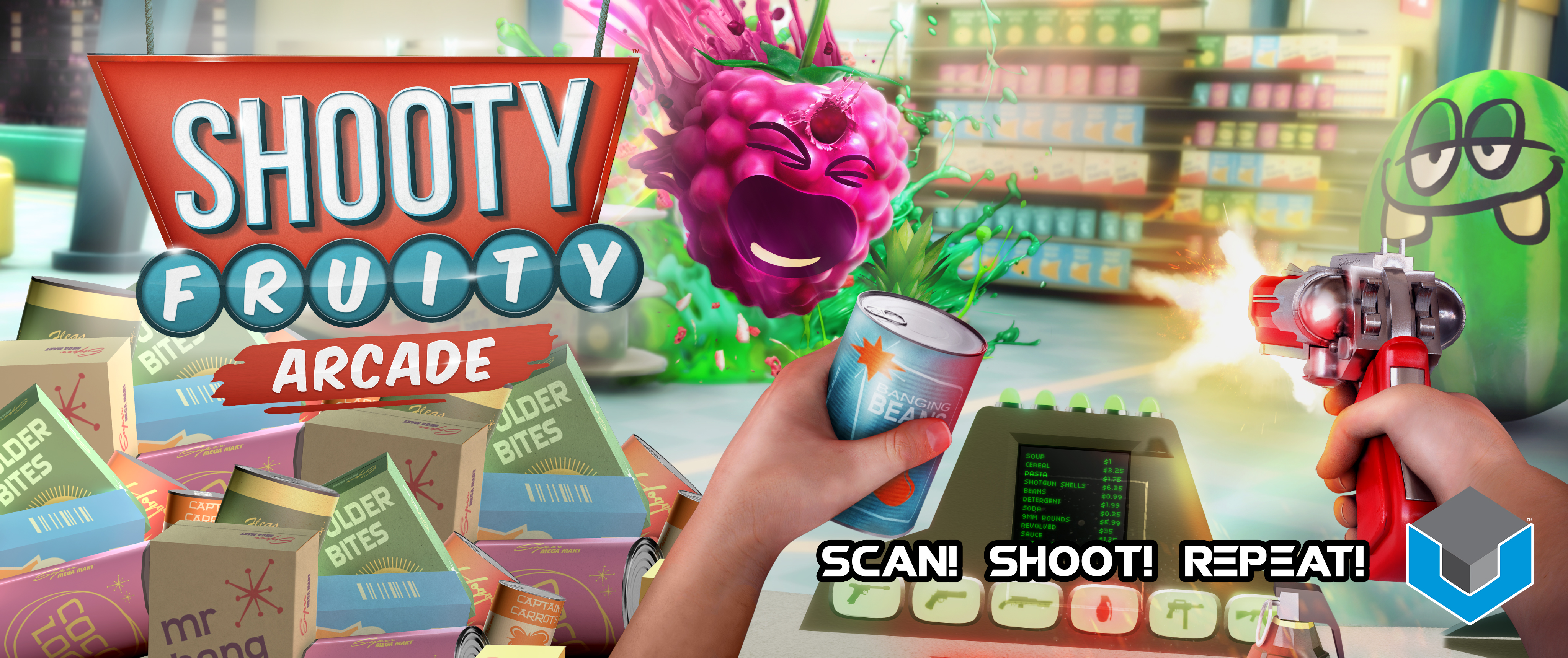 Shooty Fruity Arcade Slider