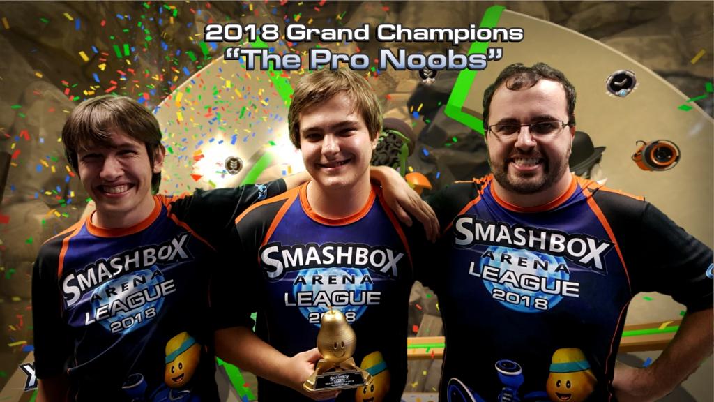 Smashbox League 2018 Winners Trophy Confetti