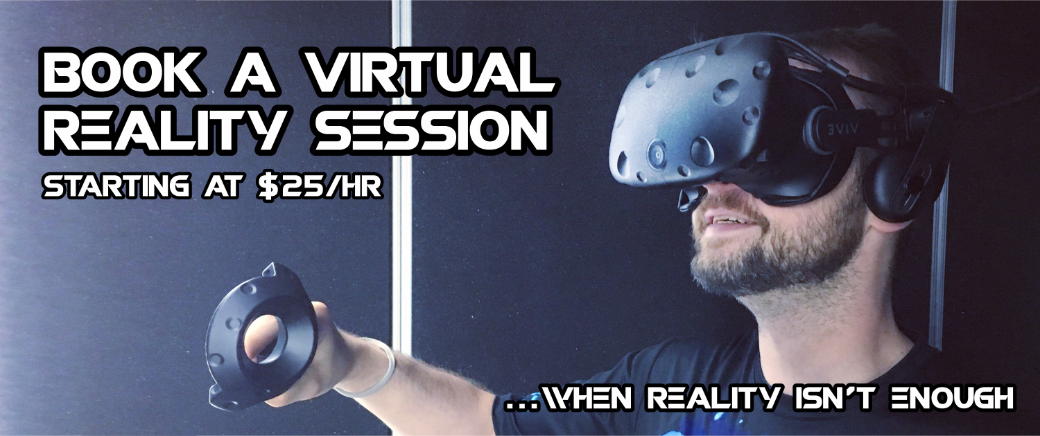 Book a VR Session Header