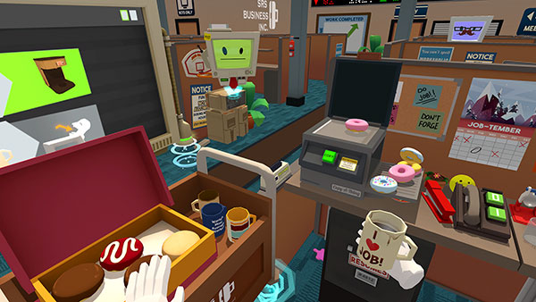 Job Simulator Screenshot