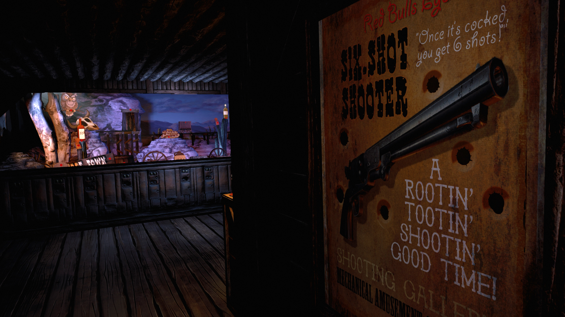 Ghost Town Mine Ride & Shootin' Gallery Screenshot